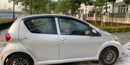 Gia đình tôi bán chiếc xe Toyota Aygo 5 chỗ số sàn mầu bạc.Xe đk lần đầu 2008,