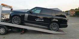 Xe mới Range Rover 2021 đen giá 9 tỷ