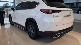Bán Mazda CX8 Deluxe nâng cấp màu Trắng tại Phố Nối Hưng Yên