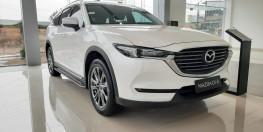 Bán Mazda CX8 Luxury nâng cấp màu Trắng tại Phố Nối Hưng Yên