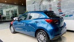 Bán xe New Mazda 2 Sport Luxury màu Xanh tại Phố Nối Hưng Yên