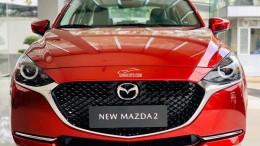 Bán xe New Mazda 2 Luxury màu Đỏ tại Phố Nối Hưng Yên