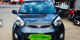 Cần bán xe KIA PicantoS đời 2014, đi 52000km