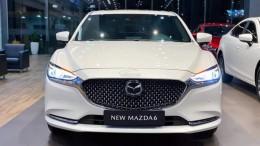 Bán New Mazda 6 Premium màu trắng giao ngay tại Phố Nối Hưng Yên