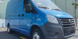 xe van GAZ nhập khẩu NGA, thùng dài 14 khối, vận chuyển 24/24 không lo cấm tải cấm giờ