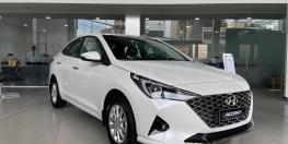 Xe Hyundai Accent 2021 phiên bản mới nhất, ngoại thất hiện đại nhiều option