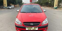Hyundai Getz 1.1MT cuối 2009, số tay, màu đỏ. Mới Nhất Việt Nam, bản full kịch đồ. Lướt đúng 6v km xịn