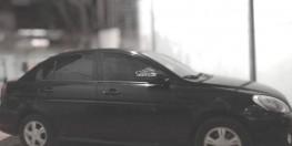 Bán gấp xe Hyundai verna 2009, số tự động, màu đen, xe nhập khẩu.
