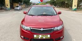 Kia Forte SLI 1.6AT cuối 2009 nhập khẩu, màu đỏ, tự động. Bản full