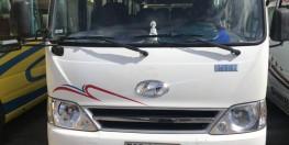 Hyundai County 2013 trắng cần bán