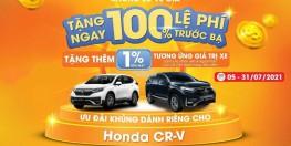 Honda CRV Rẻ Nhất Đông Nam Bộ, Giảm 100% Trước Bạ, Phụ Kiện