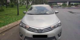 Cần bán xe TOYOTA ALTIS 1.8G 2015 màu bạc chính hãng Toyota Sure