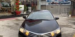 Cần bán xe TOYOTA ALTIS 1.8G 2016 màu đen chính hãng Toyota Sure