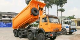 Xe tải ben Kamaz tải trọng cao 2016 giá ưu đãi
