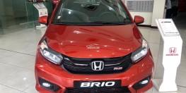 Honda Brio RS đủ màu giao ngay- Trả trước 140 triệu