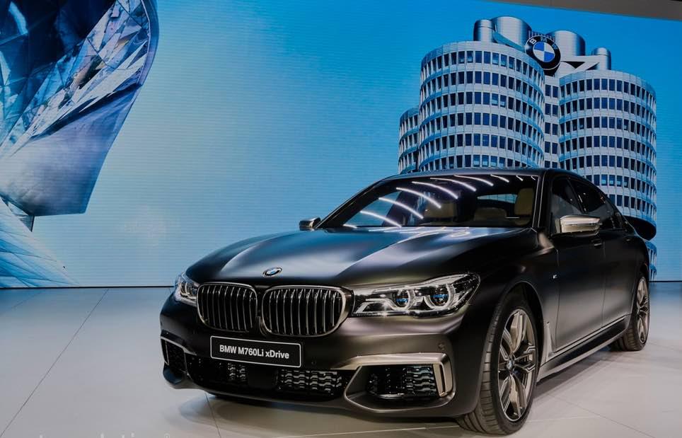 BMW M760Li xDrive 2017 1