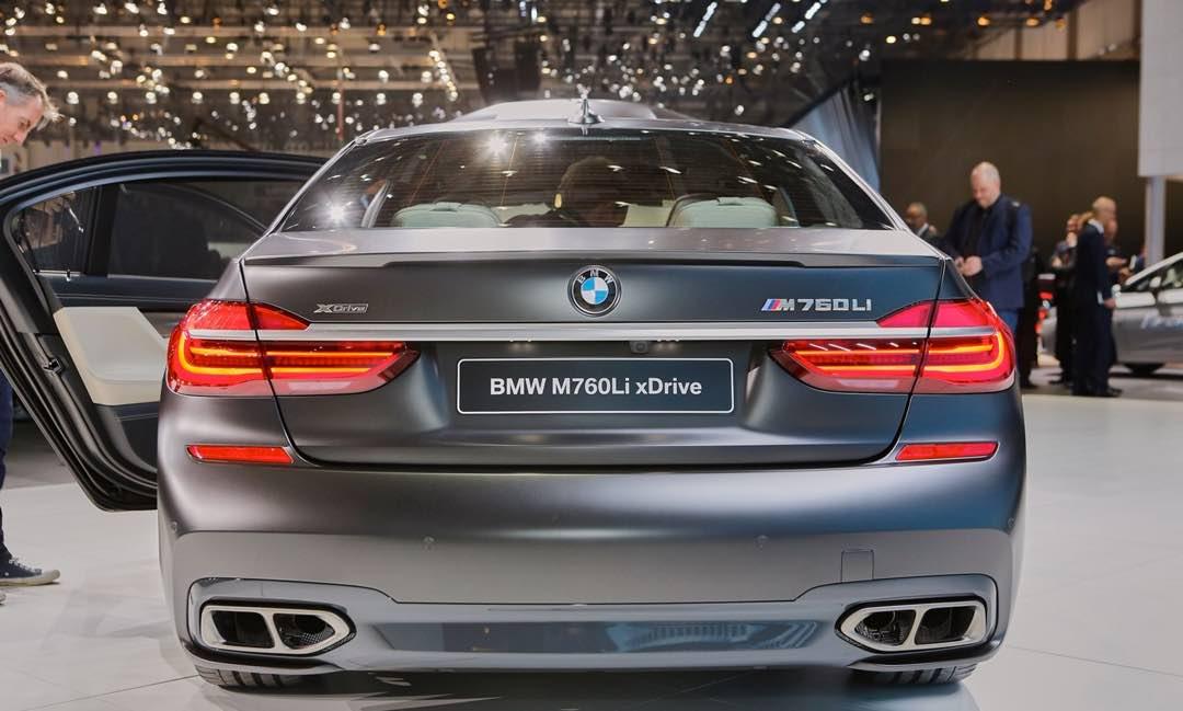 BMW M760Li xDrive 2017 4