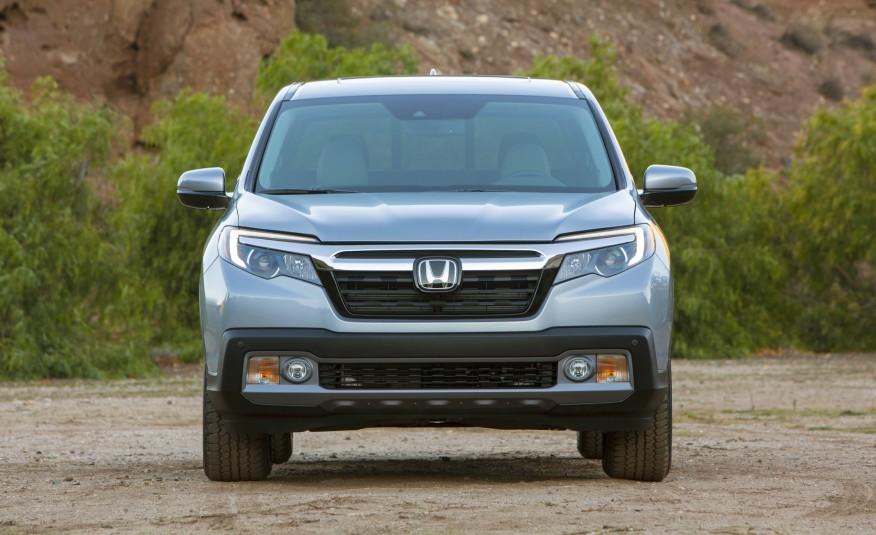 Honda Ridgeline 2017 1