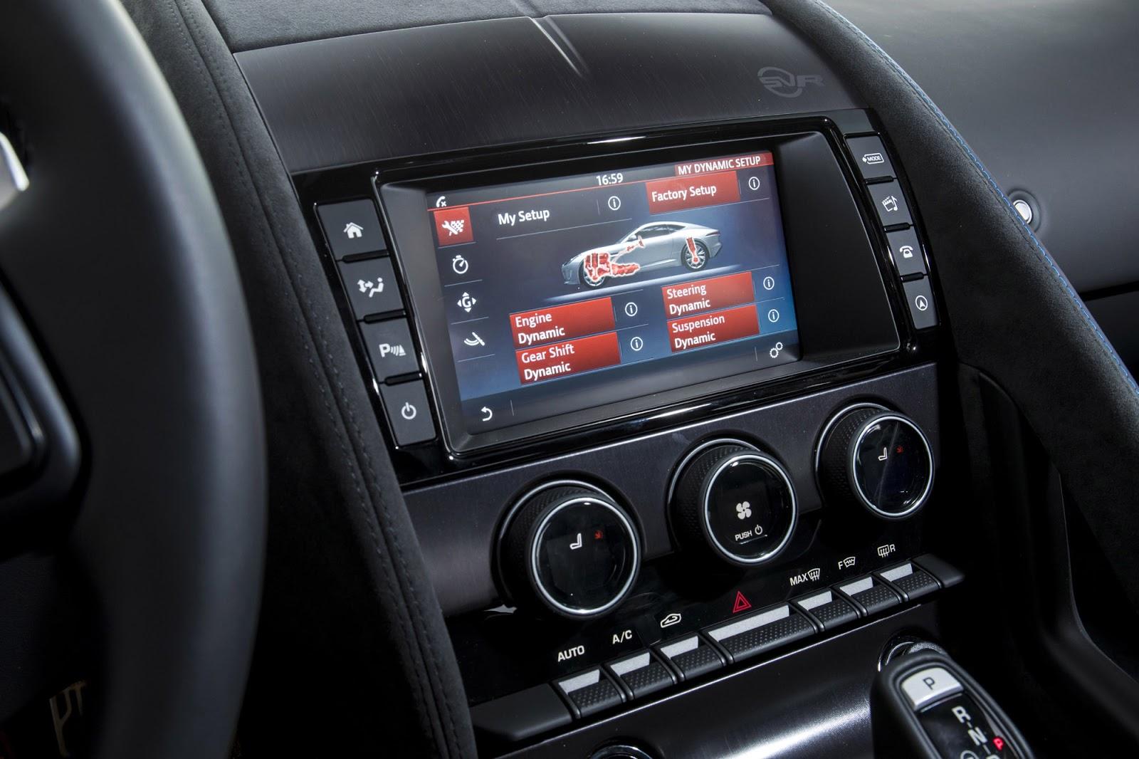 Jaguar F-Type SVR 2017  21