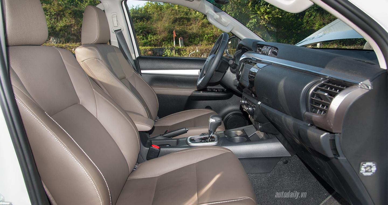 Đánh giá xe Toyota Hilux 2016 4.2