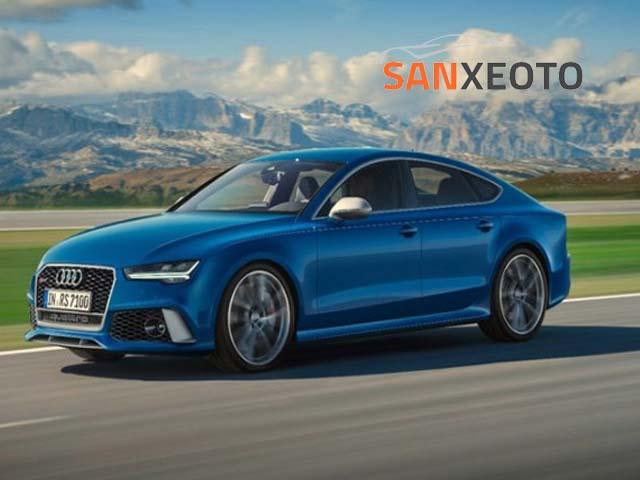 giá xe ô tô Audi RS7, bảng giá xe ô tô Audi RS7