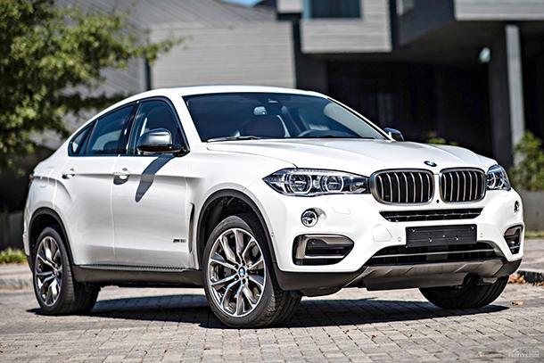 Giá xe BMW X6 giao động từ 3.249 triệu - 3.999 triệu