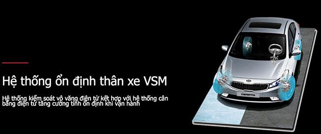 Hệ thống ổn định thân xe VSM