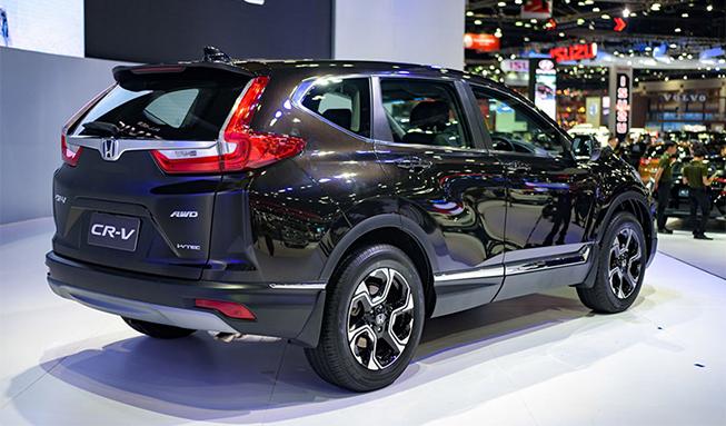 Honda CRV 2018 với phần đuôi xe ấn tượng