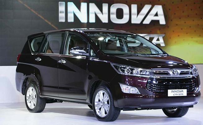 Toyota innova 2018 dòng suv 7 chỗ quen thuộc Việt Nam