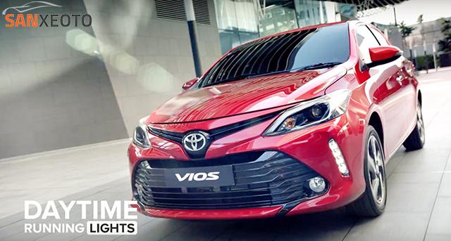 Toyota vios 2018 có sự phá cách đầu xe