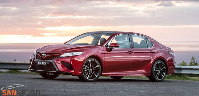 Toyota camry 2018 một lường gió mới