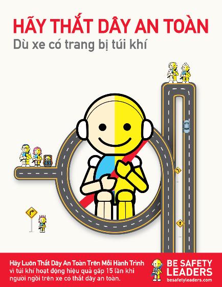 Lý do nào khiến người đi ô tô không thắt dây an toàn 1