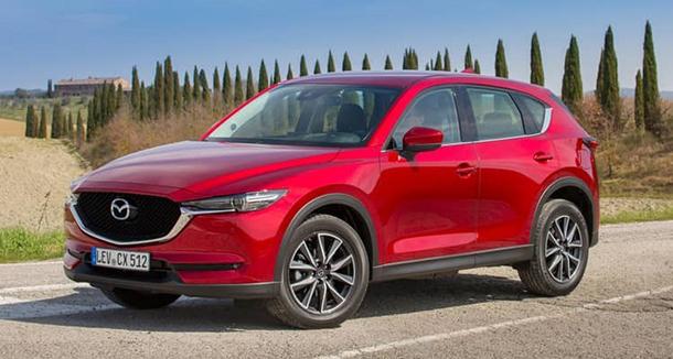 Chiếc xe Mazda CX5 sang trọng, quyến rũ