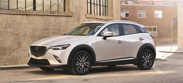 Dòng xe Mazda CX3 2018 mới ra mắt trên thị trường