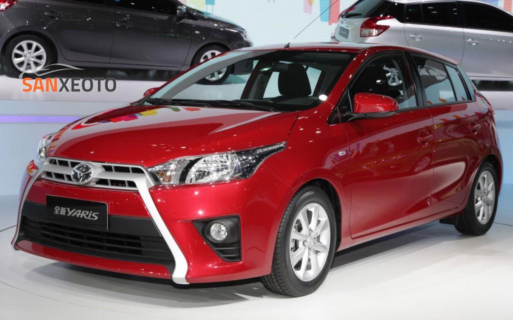 Toyota Yaris 2017 – dòng xe nhập khẩu Thái Lan phù hợp cho phái mạnh
