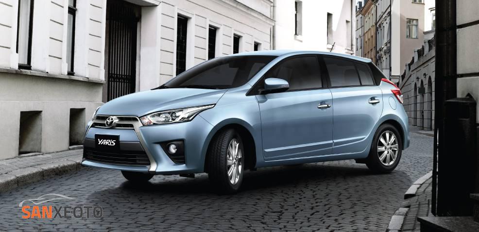 xe ô tô Thái Lan giá rẻ Toyota Yaris