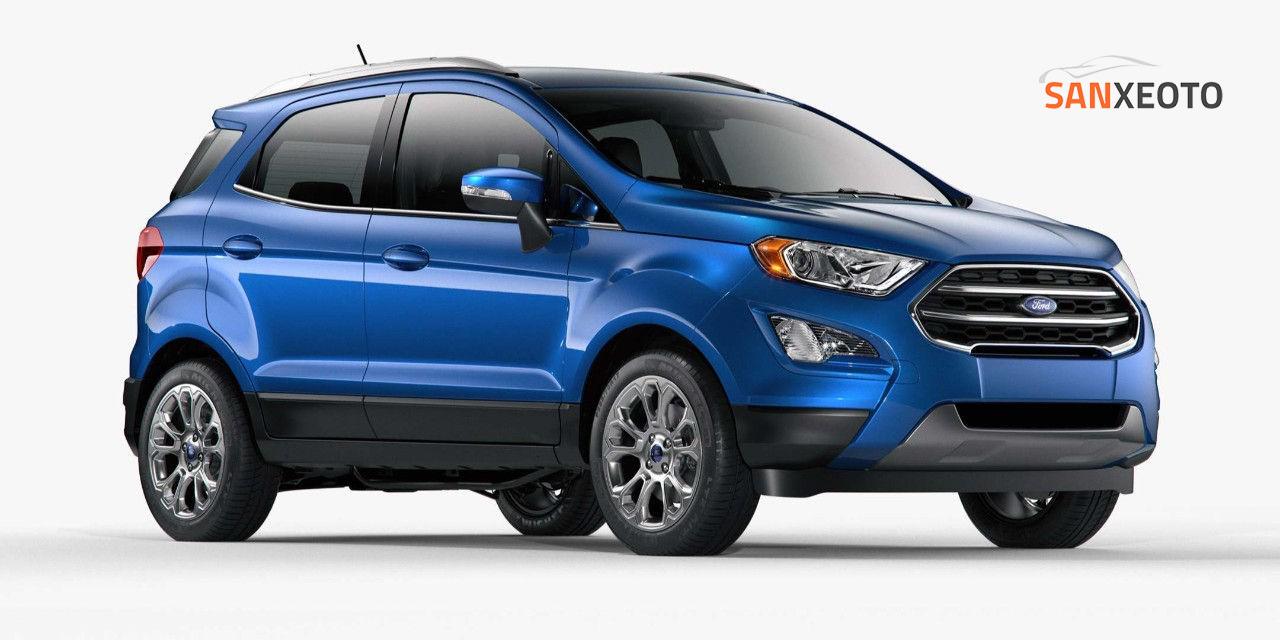 Ford Ecosport cũng sở hữu mức giá khá ấn tượng