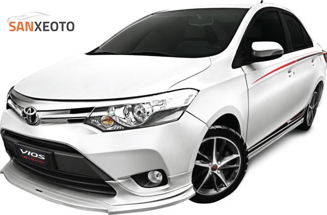 Toyota Vios – dòng xe bán chạy hàng đầu