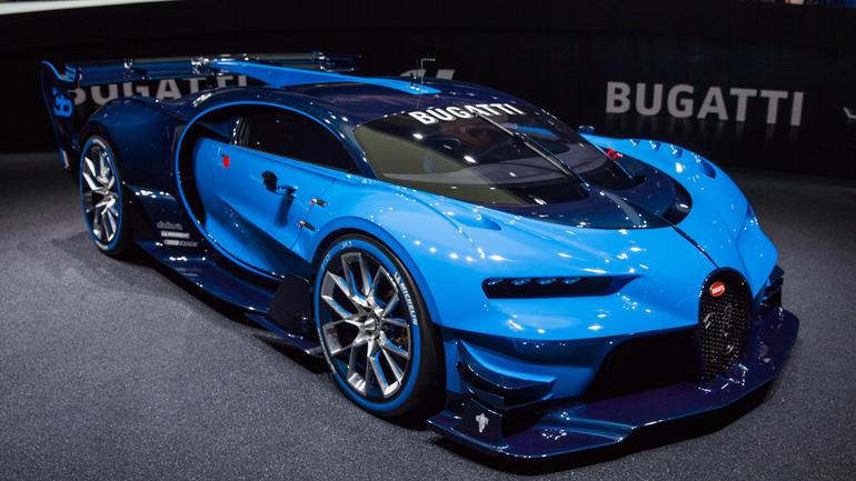 Bugatti Chiron 2017 1