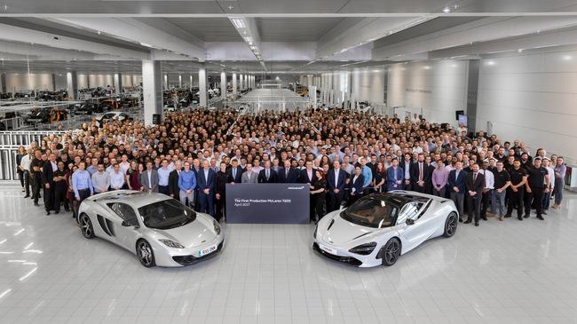 """McLaren 720S, """"trang mới"""" dòng Super Series đến từ Anh quốc"""