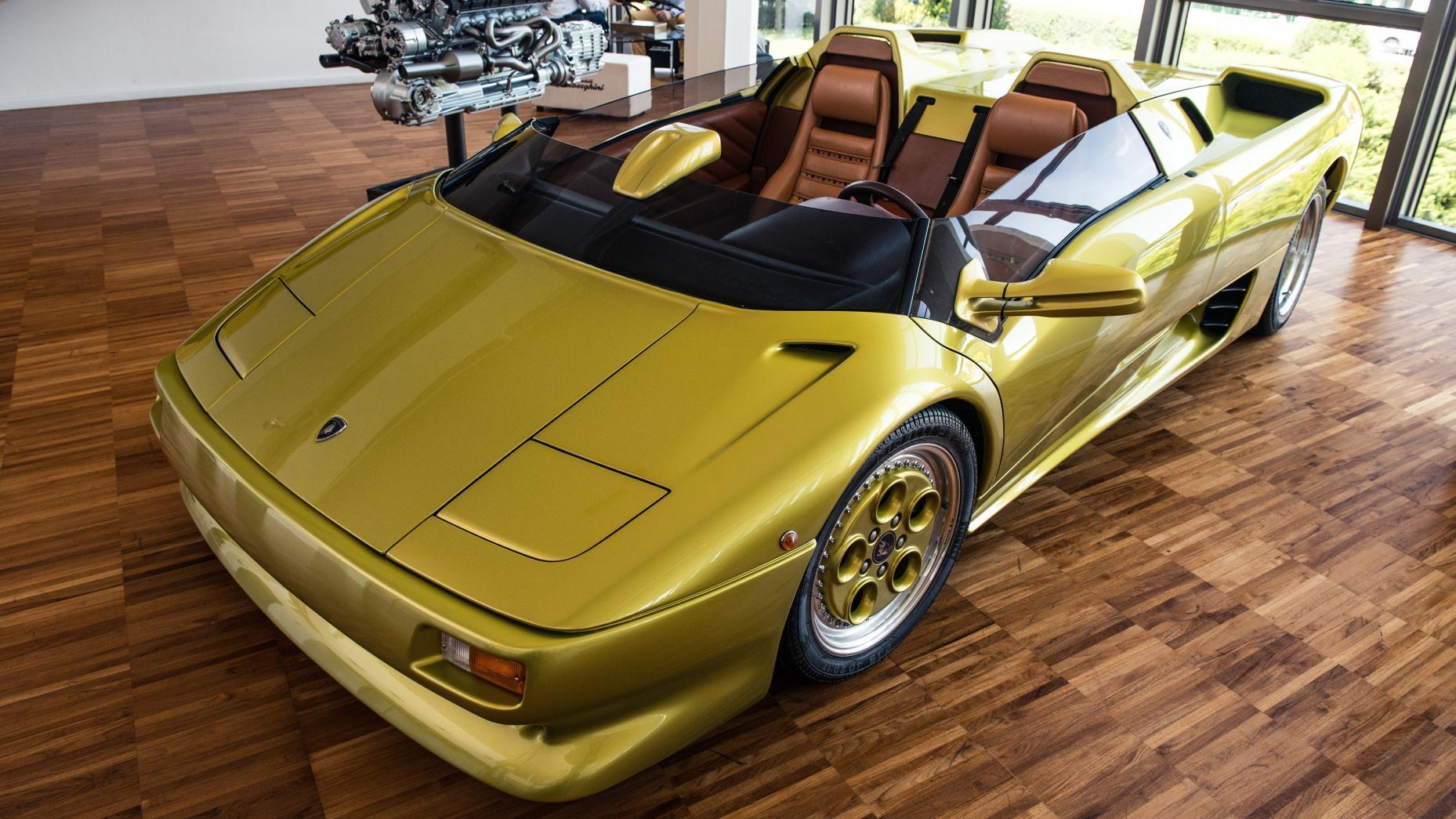 Cùng chiêm ngưỡng bảo tàng của siêu xe Lamborghini 2