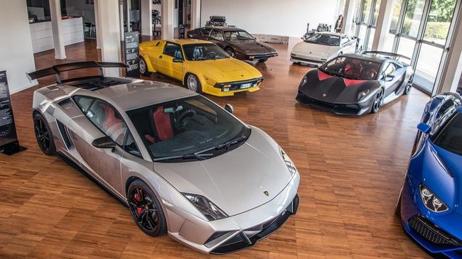 Cùng chiêm ngưỡng bảo tàng của siêu xe Lamborghini