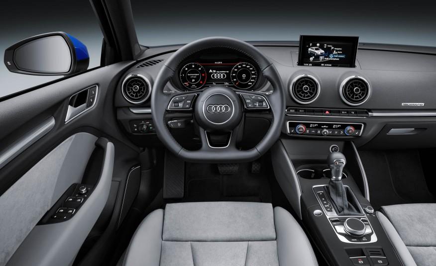 Audi A3 2017 và Mercedes-Benz CLA-Class 2017 2