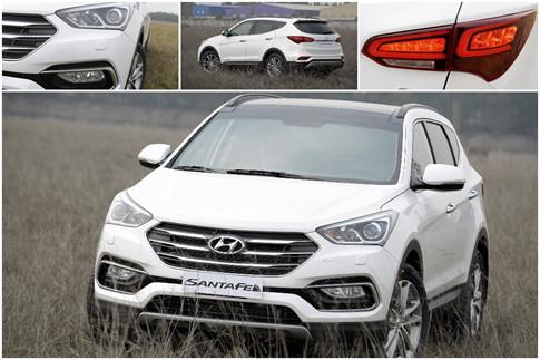 Chevrolet Captiva REVV và Hyundai SantaFe 2