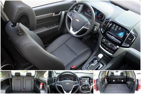Chevrolet Captiva REVV và Hyundai SantaFe 3