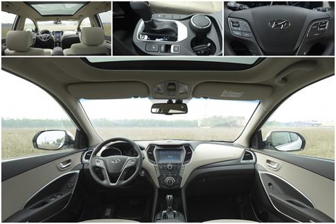 Chevrolet Captiva REVV và Hyundai SantaFe 4