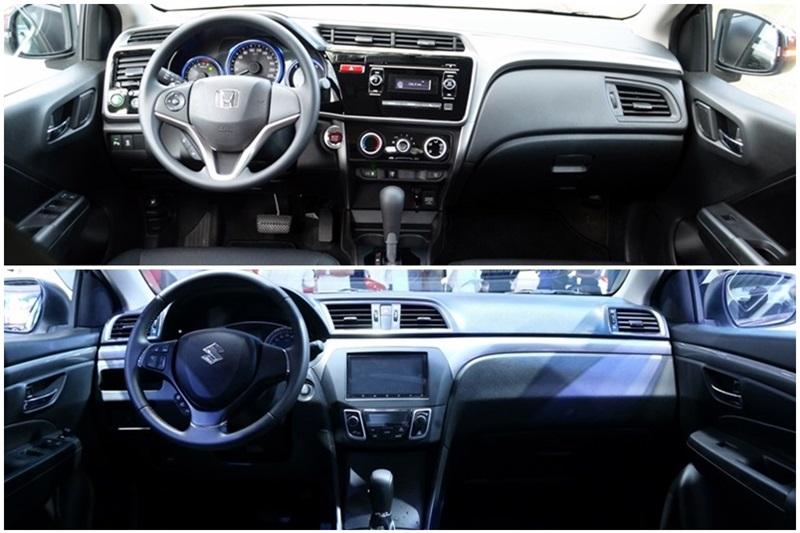 Honda City và Suzuki Ciaz 3