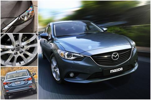 Mazda6 và Toyota Camry 3