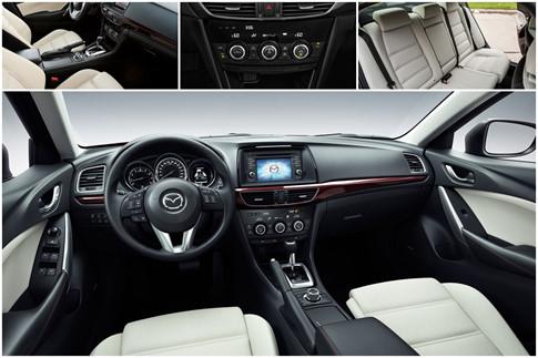 Mazda6 và Toyota Camry 5