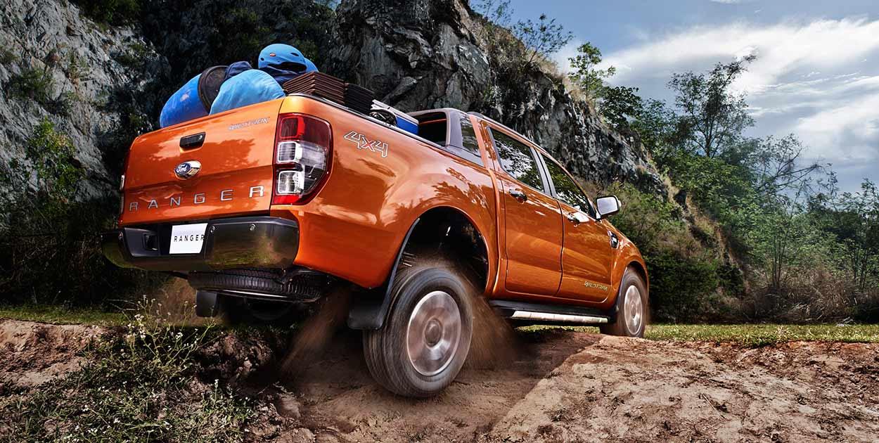 So sánh Ford Ranger và Mitsubishi Triton 4.1